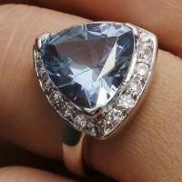 Best Attractive Sapphire 925 Silver Ring, OEM/ODM Orders Welcomed wholesale