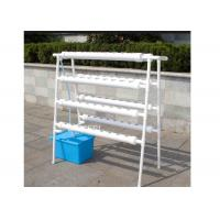 Best PVC Soilless Cultivation Hydroponic Grow Kit 8 Pipes 4 Layers 72 Plant Sites wholesale