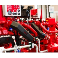 China FM Approved IF05ATH-F Fire Pump Diesel Engine 74KW Power De Maas on sale