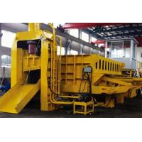 China 37KW * 2 Gantry Shear / Scrap Car Baler For Cutting Section Bars 8 - 13 Tons / HR on sale