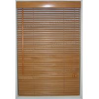 China 25mm Slat Basswood Venetian Blinds Timber Window Blinds on sale