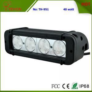 Best 40 Watt 8 Inch Single-Row CREE LED Light Bar SXS Light bar for 4X4 off-Road Vehicles wholesale
