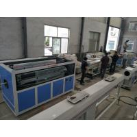 China Twin Screw UPVC PVC Pipe Production Line Pavement Of Cables Pvc Pipe Making on sale