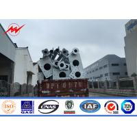 Best 1km Range Overhead Power Transmission Poles For High Voltage Electrical Line Project wholesale