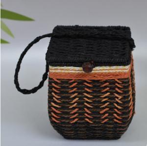 Best 2016 Hot sale Europe Style Paper Rope Mini Basket, tea packing basket, storage basket wholesale