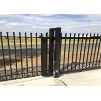 Cheap High Strength Tubular Hi Security Fencing Garrison Security Fencing With AU / NZS Standard for sale