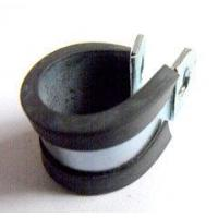 Buy cheap P Type Rubber Lined Hose Clips Pipe Clamp from wholesalers