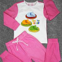 Best Cute Newborn Baby Clothes Set Printed Cotton Toddler Boys Clothing wholesale