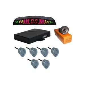 China New Design Digital Tube Rainbow Led Display Car Parking Sensor System Electronics Products on sale