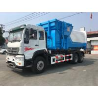 China 9.726L Engine 18CBM Special Purpose Truck  / Garbage Container Lift on sale