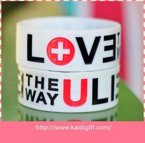 China rubber silicone wrist bands,custom bulk cheap silicone wristband on sale