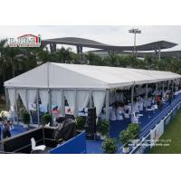China 500 People 20X20 Party Tent With Sidewalls , Canopy Party Tent on sale