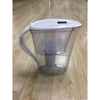 Best ABS / AS White Countertop Alkaline Water Purifier Pitcher High PH Natural Filtration System wholesale