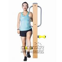 China outdoor fitness equipments WPC materials based leg massager on sale