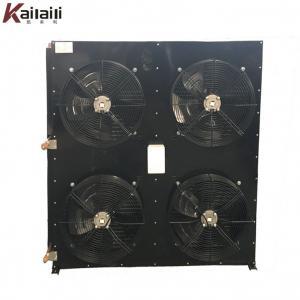 Industrial Fin Type Air Cooled Refrigeration Condenser Heat Exchanger