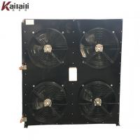 Cheap Industrial Fin Type Air Cooled Refrigeration Condenser Heat Exchanger for sale