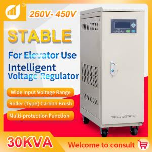 Best Voltage Stabilizer 30 kVA Three Phase for Elevator Specific wholesale
