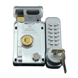 China Outdoor / Indoor Mechanical Code Lock , Anti - Theft Door Iron Mechanical Number Lock on sale