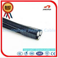Best Customized Size Triplex Aluminum Wire ABC Cables , Outside Overhead Electrical Wire wholesale
