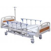 Best Professional Electric Hospital Bed With Rails 4 Inch Wheels 5 Functions Adjustable wholesale