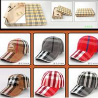 Best Brand burberryes women sport hat casual cap women hats wholesale