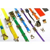 China Customized Length Color Ratchet Tie Down ,  Cargo Tie Down  Wstda Standard on sale
