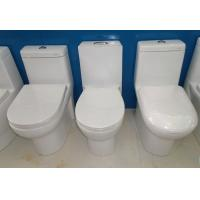 China Super rotation type ceramic one piece toilet bowl & quiet wc toilet on sale
