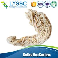 Best New Arrival All different Calibers Natural Salted Hog Casings for Sausage Sale 38/40 wholesale