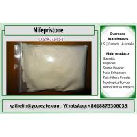 Buy cheap 84371-65-3 Female Hormone Steroids Mifepristone Raw Steroid Powder For from wholesalers