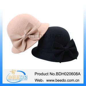 Best Handmade women cloche bowler hats jewish caps wholesale