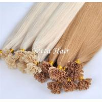 China Professional Pure Indian Pre Bonded Hair Extensions Tangle Shed Free on sale