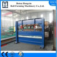 Best Colored Steel Roll Bending Machine For Roof 0.3 - 0.8mm Plate Thickness wholesale