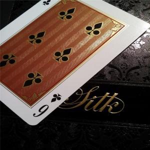 Best Plastic Gold PVC Playing Cards Gold Foil Poker Golden Poker Card wholesale