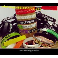 Buy cheap Cheap Custom design Silicone Wristbands/Bracelets 1/2 inches for Basketball from wholesalers