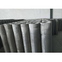 China 20 Micron Stainless Steel Mesh Low Elongation And High Tension on sale