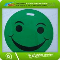 Best PVC Smiley Luggage Tag, fashion six colors luggage tag wholesale