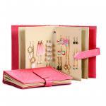 Best Earrings Holder Book Fancy Jewelry Box Foldable For Earrings Storage wholesale