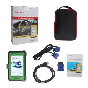 China Portable Auto Diagnostic Tools , Multilingual Original CareCar C68 on sale