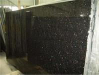 Cheap Black Galaxy Granite,Polished Black Granite Tile/Slab/Counter Tops,Black Galaxy Skirting,Wall Tile for sale