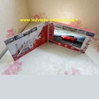 Best Custom Lcd Video Catalog Advertising Video Brochure with usb port wholesale