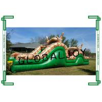 China Inflatable bounce house jumper slide obstacle interactive obstacle course wholesale