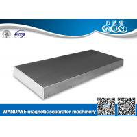 Buy cheap Double Cooling Overband Magnetic Separator Strong Magnet Magnetic Plates / Board from wholesalers
