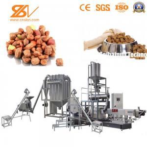 China Saibainuo Dog Food Machine , Kibble Animal Feed Extruder Pet Food Making Machine on sale