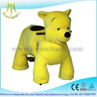 Cheap Hansel 2015 High popularity big battery operated ride animals,stuffed animal riding for sale