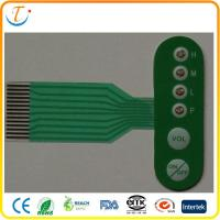 Best 3M Metal Dome PCB Membrane Switch Keypad Tactile / Flat For Security Systems wholesale