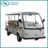 Best CE Electric Car Sightseeing Shuttle Bus Tourist Coach 14 Seats (LQY140A) wholesale
