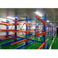 Buy cheap Multi Level Double Side Metal Heavy Duty Cantilever Racks , Warehouse Racking System from wholesalers