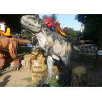 Best Silicon Dioxide Sit And Ride Dinosaur, Childrens Sit On Dinosaur Head Moving Left To Right wholesale