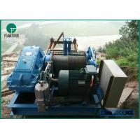 Best 0.5-300MT JM Slow/Low Speed Electric Winch With Wrie Rope For Construction Building wholesale