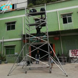 Best Outdoor Removable Aluminum Telescopic Scaffold Tower Easy Install wholesale